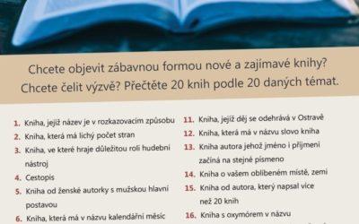 Nechte se inspirovat Čtenářskou výzvou