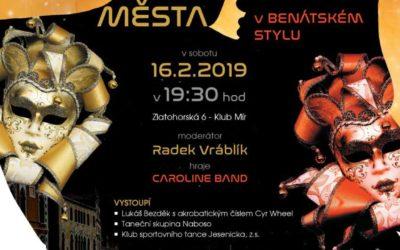 Ve Vrbně připravují 22. ples města, letos bude v benátském stylu