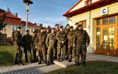 Vojáci darovali krev ve Slezské nemocnici