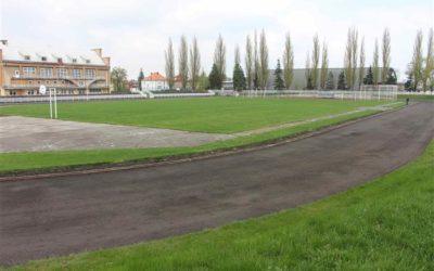 Oprava atletického stadionu v Krnově: chybí už jen podpis smlouvy