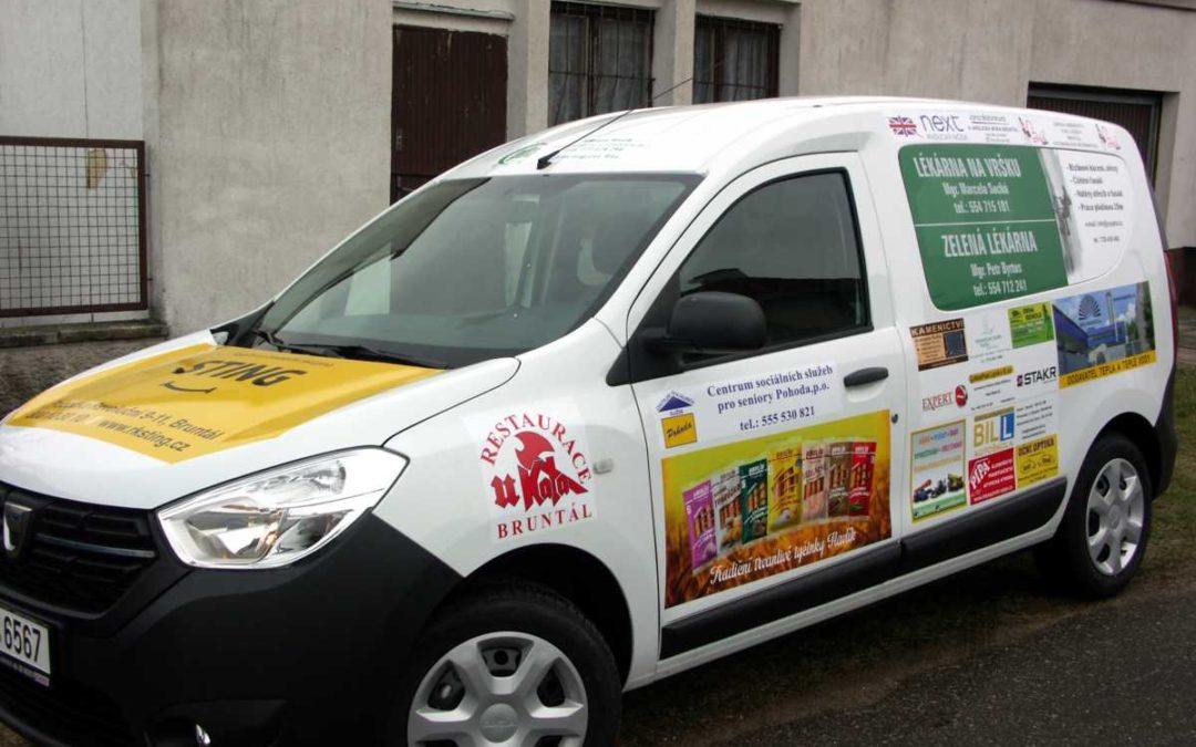Sociální automobil pomůže centru pro seniory v Bruntále