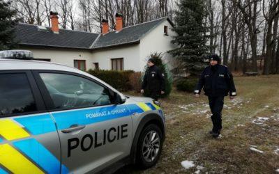 Policisté kontrolují chaty a rekreační objekty, chraňte majetek sobě i svým sousedům
