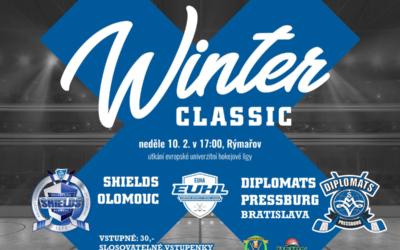 Na stadionu vRýmařově se představí týmy evropské univerzitní hokejové ligy