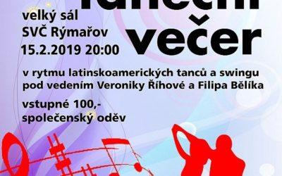Středisko volného času Rýmařov zve na Jiřinkový taneční večer