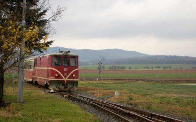 Lokomotiva 705 917 se z Osoblažska vydala na svou poslední cestu