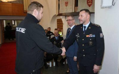Noví policisté moravskoslezského kraje složili slib