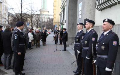 Pietní akt u příležitosti 80. výročí obsazení Ostravy
