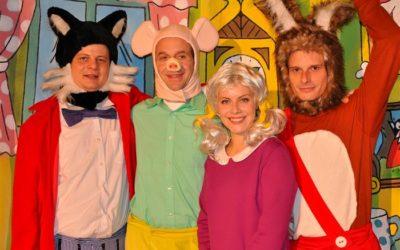 Městské divadlo Bruntál uvede rodinnou pohádku Čtyřlístek a talisman moci