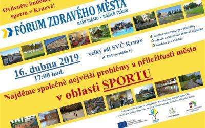 Fórum Zdravého města Krnova patří sportu