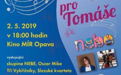 Na Benefičním koncertě pro Tomáše vystoupí i skupina Nebe