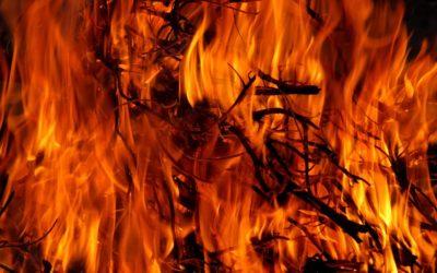 Hasiči varují před vypalováním trávy