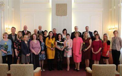 V Krnově převzalo ocenění 21 pedagogů