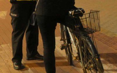 Policisté se zaměřili na viditelnost chodců a cyklistů