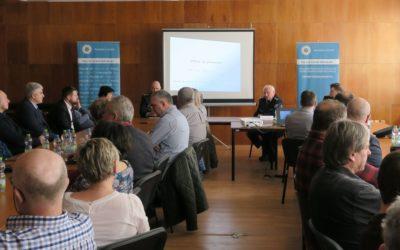 Vedení policie územního odboru Bruntál se setkalo se zástupci měst a obcí