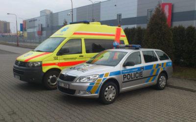 Policisté z řad SPJ Moravskoslezského kraje absolvují stáže u zdravotnické záchranné služby