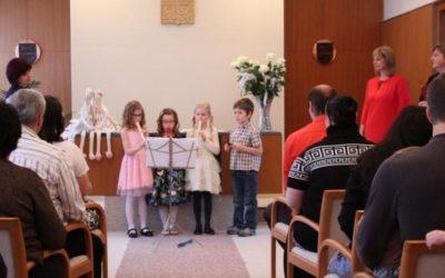 Ve Vrbně pod Pradědem přivítali nové občánky