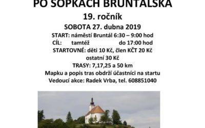 Klub českých turistů pořádá turistický pochod po sopkách Bruntálska