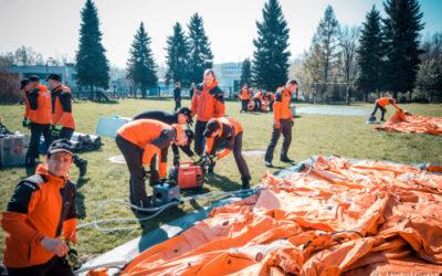 Tým hasičů WASAR zachránil stovku osob z polských jezer a řek