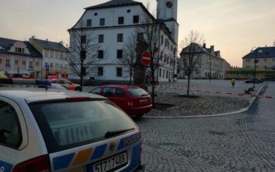 EXPLOZE V RÝMAŘOVĚ! Policisté zadrželi údajného pachatele