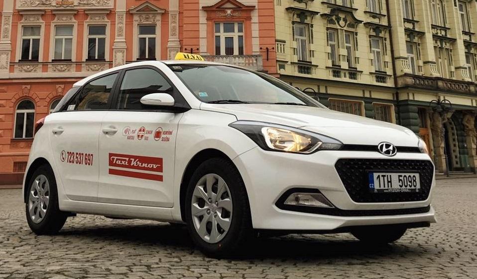 """Pro seniory jsme připravili jarní akci,"""" upozornil provozovatel Taxi Krnov Martin Khain"""