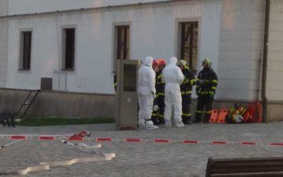 Po výbuchu v Rýmařově policie ohledávala místo činu