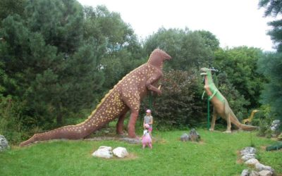 Nejstarší český dinopark najdete u Města Albrechtic