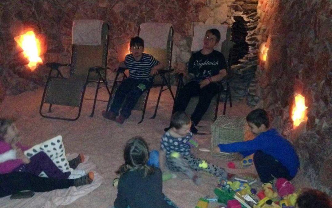 Žáci navštěvují pravidelně solnou jeskyni v Krnově