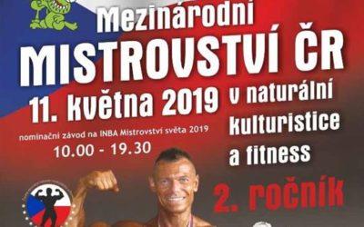 Mezinárodní Mistrovství České republiky v naturální kulturistice a fitness proběhne v Bruntále