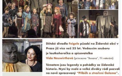 Krnovská synagoga zve na divadelní představení – Příběh stvoření Golema