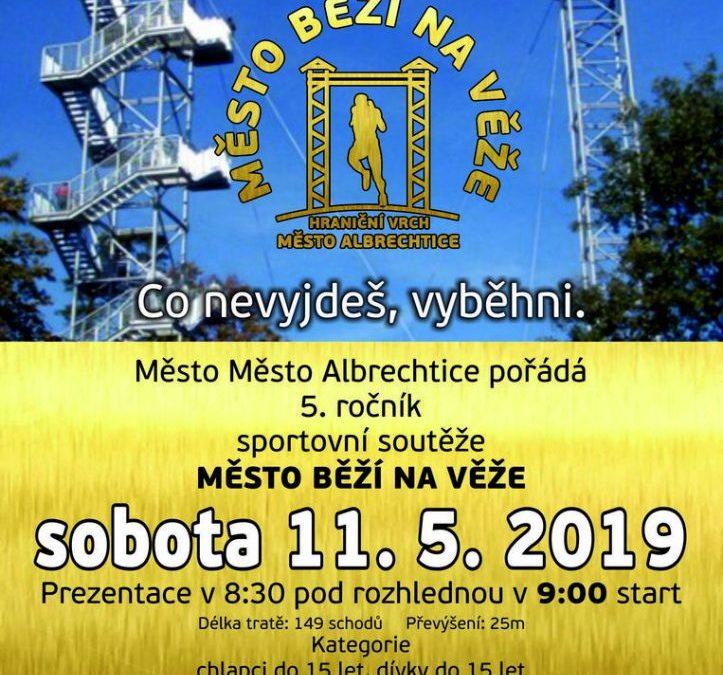 Město Albrechtice pořádá 5. ročník soutěže Město běží na věže