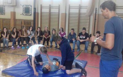 V ZŠ proběhl kurz první pomoci žáků 9. ročníku