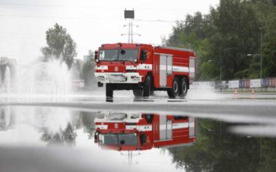 Dobrovolní hasiči se zdokonalují v řízení vozidel