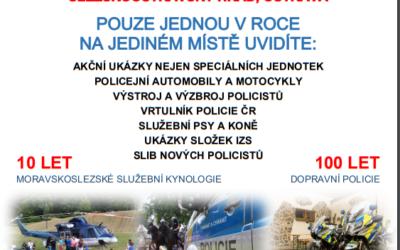 Den policie se koná v prostorách Slezskoostravského hradu v Ostravě