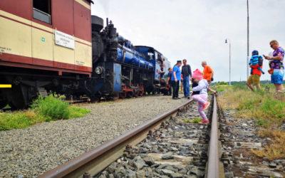 Úzkorozchodným parním vlakem si vyjeďte po Osoblažsku