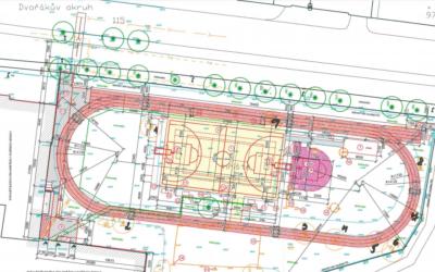 U základní školy na Dvořákově okruhu v Krnově vznikne víceúčelové hřiště
