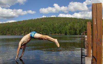 V Rýmařově se chtěl muž utopit v rybníku