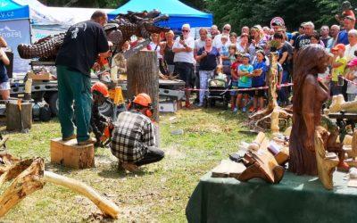 Lesní slavnost Lapků z Drakova letos oslavila patnácté výročí