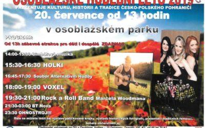 V Osoblaze vystoupí skupina Holki a Voxel