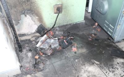 Hasiči upozorňují na nebezpečí při nabíjení akumulátorů