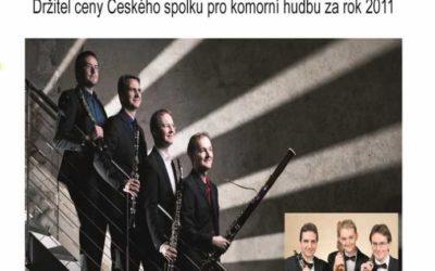 Koncert Arundo kvartet se uskuteční v zámku