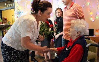Marie Martiníková z Krnova oslavila sté narozeniny