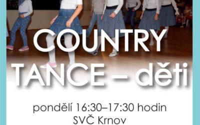 SVČ Krnov zve děti do tanečního kroužku Country tance