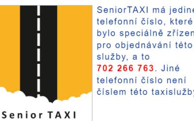 Někteří provozovatelé taxi a podobných služeb v Rýmařově se vydávají za SeniorTAXI