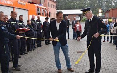 V Rýmařově byla slavnostně otevřena nová hasičská zbrojnice
