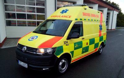 Zdravotnická záchranná služba pořídila novou techniku z prostředků Fondu zábrany škod