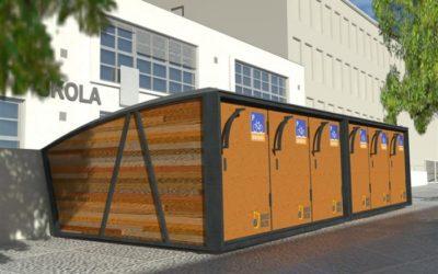 Cyklistům budou v Krnově sloužit bikeboxy
