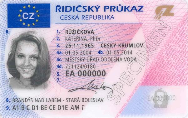 Zkontrolujte si platnost řidičského průkazu