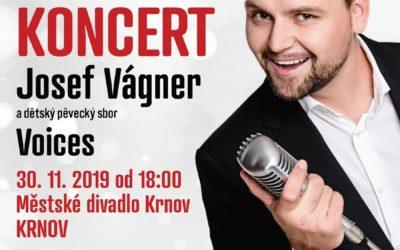 Městské divadlo Krnov uvede Vánoční koncert Josefa Vágnera