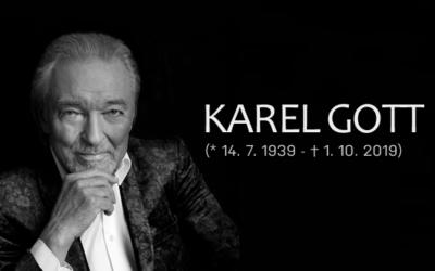 Zemřel Karel Gott, ve věku 80 let