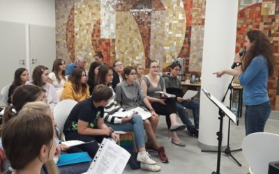 Mladí rýmařovští zpěváci vystoupili v Polsku